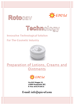 ROTOCAV brochure for the cosmetic industry