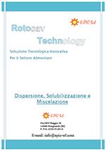Brochure ROTOCAV per i processi di miscelazione