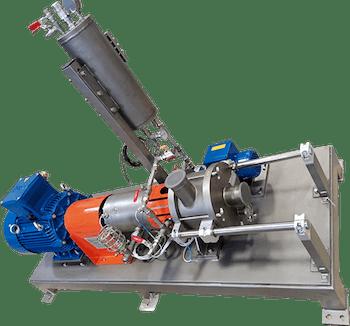 ROTOCAV dynamic hydrodynamic cavitator, inline installation