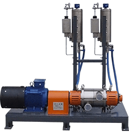 hydrodynamic cavitator for the cosmetic industry