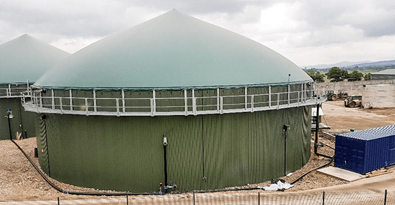 CaviMax unit with ROTOCAV cavitator - biogas plant - installation in loop to the digester