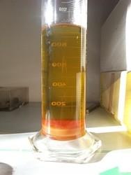 Glyzerin von Biodiesel durch Sedimentation leicht abtrennbar
