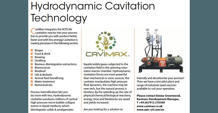 Cavimax and ROTOCAV on Industrial process news magazine