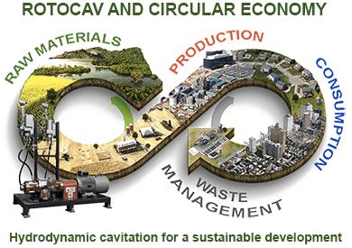 ROTOCAV and circular economy
