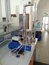 E-PIC S.r.l. - Impianto scala laboratorio cavitazione idrodinamica