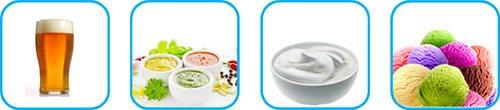 Esempi di trattamenti effettuabili e prodotti ottenibili mediante impiego del cavitatore idrodinamico ROTOCAV