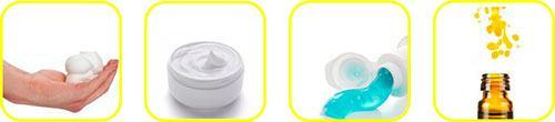 Alcuni esempi di prodotti che si possono ottenere con il cavitatore idrodinamico ROTOCAV